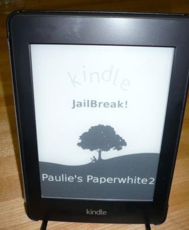 Amazon Kindle Paperwhite 2 jailbroken