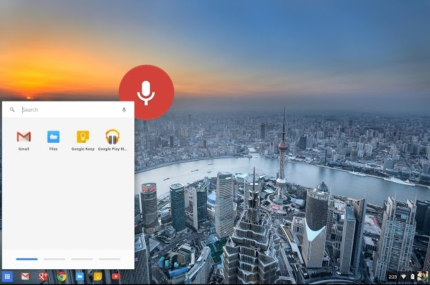OK Google in Chrome OS