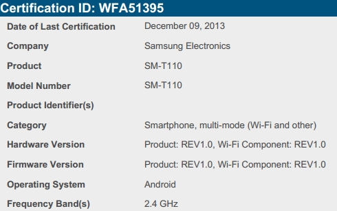 Samsung Galaxy Tab 3 Lite coming soon: Leaks reveal modest