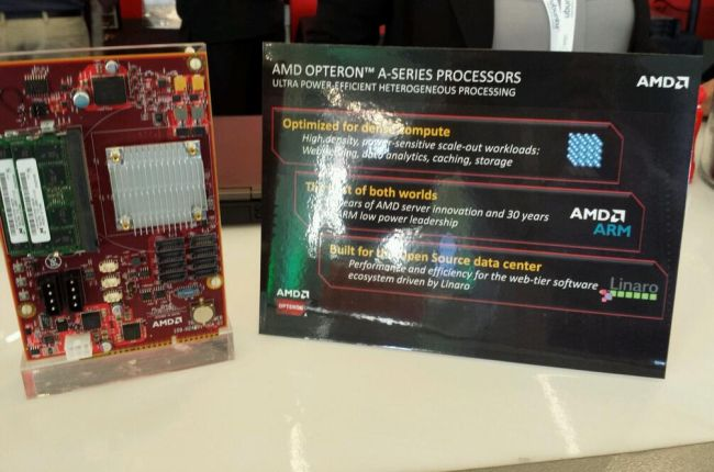 AMD Opteran A developer board