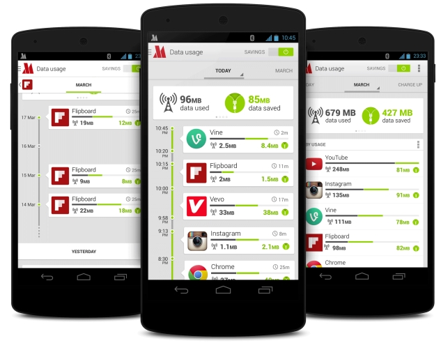 Opera Max makes mobile data go further by compressing all your