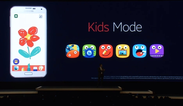 samsung kids mode