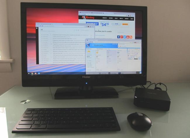 Asus Chromebox review (Chrome desktop with Celeron CPU) - Liliputing