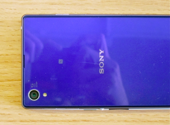 OnePlus One hidden beneath a Sony Xperia Z1