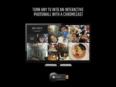 photowall for chromecast