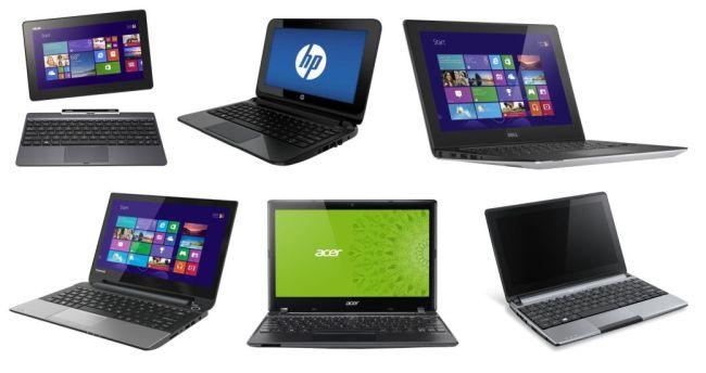Tiny laptops
