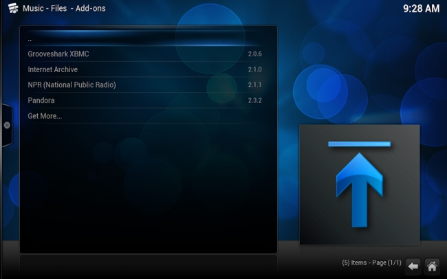 XBMC 13 add-ons