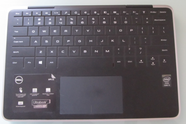 xps 11 keyboard full