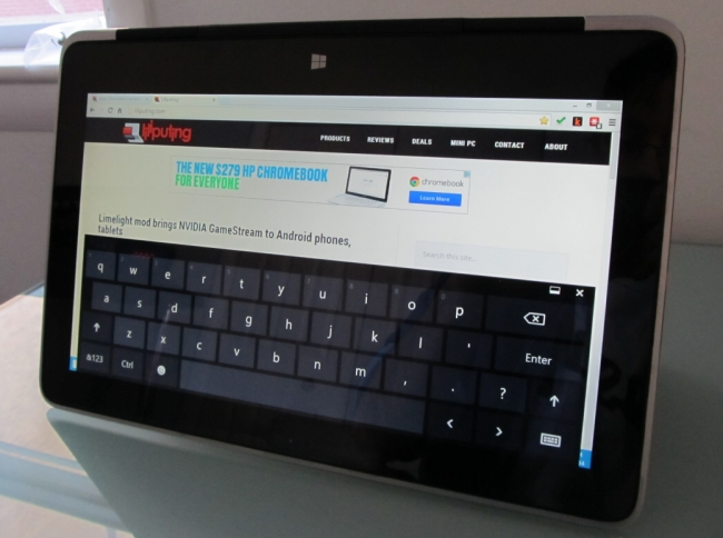 xps 11 on-screen keyboard