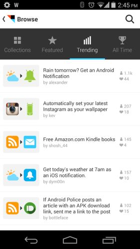 ifttt android