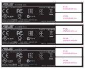 asus tp500l label