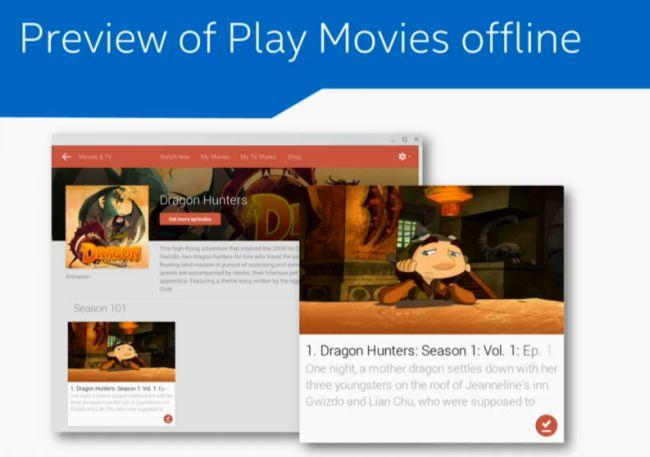 play movies offline