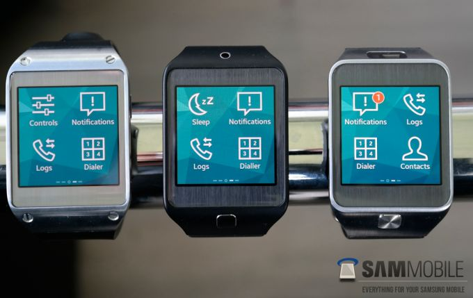 samsung galaxy gear with tizen