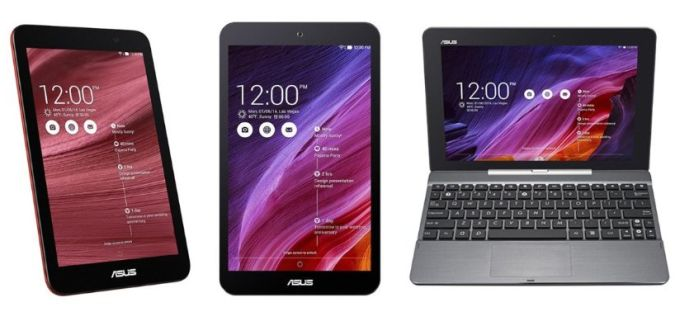 asus bay trail tablets