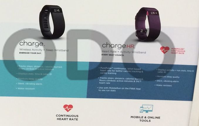 fitbit charge and hr