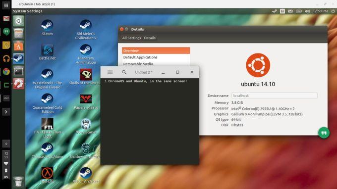 ubuntu tab