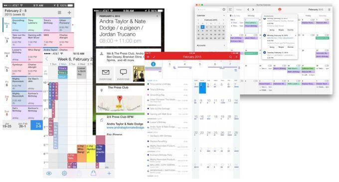 ios calendars