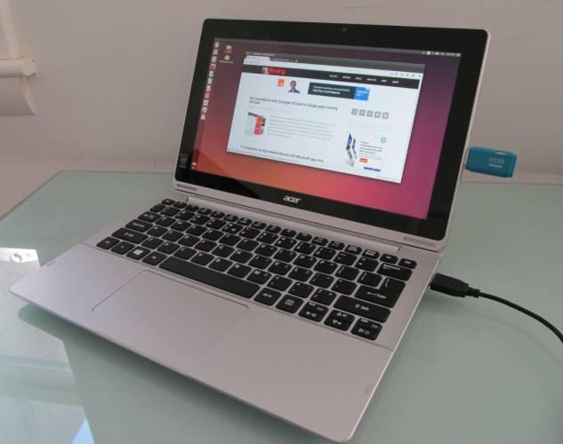acer switch 11 ubuntu