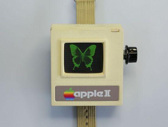 Apple II Watch DIY