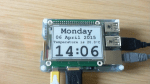 e-Paper display for Raspberry Pi [crowdfunding]