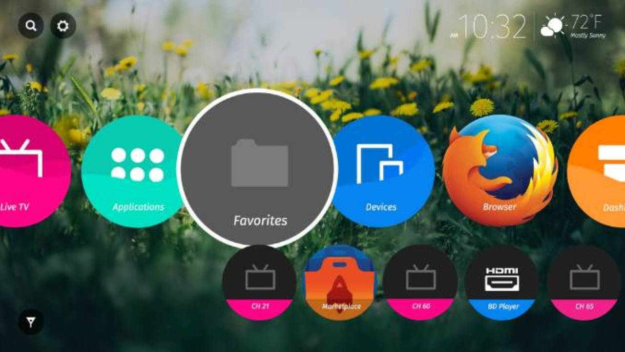 This is what Firefox OS looks like on TVs - Liliputing