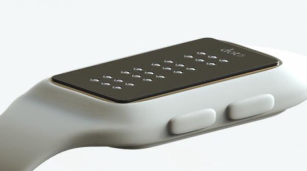 Dot braille smartwatch 2