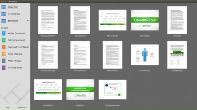LibreOffice 5 0 open source office suite now available - Liliputing