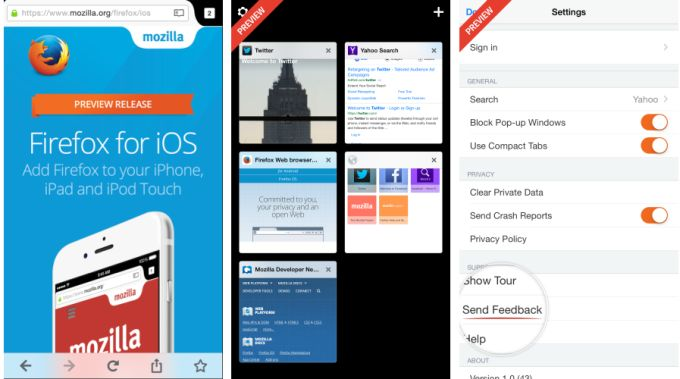 Mozilla releases Firefox for iOS preview (in New Zealand) - Liliputing