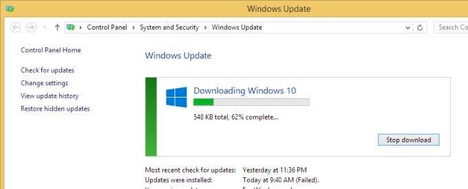 Your PC might download Windows 10 even if you don't plan to upgrade