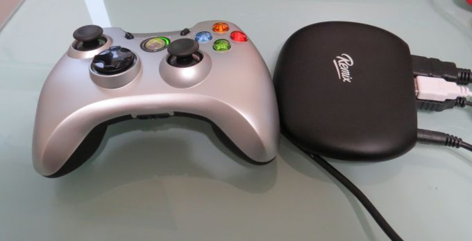 with gamepad