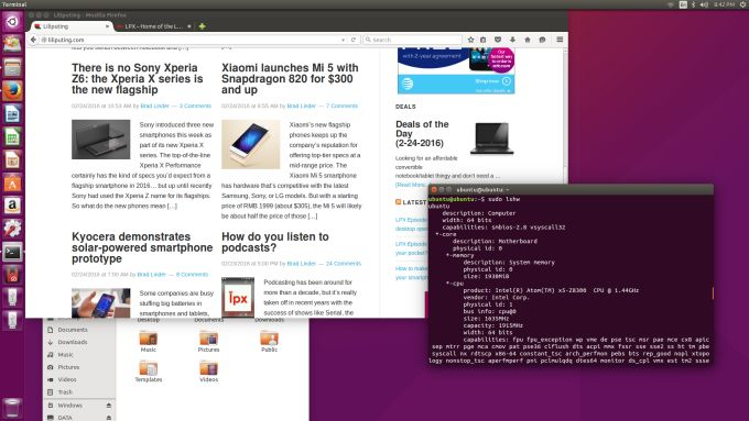 Running Ubuntu on a Cherry Trail Intel Compute Stick (or other