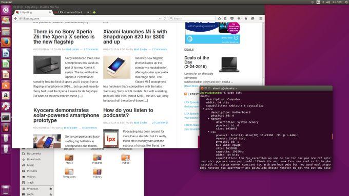 Running Ubuntu on a Cherry Trail Intel Compute Stick (or