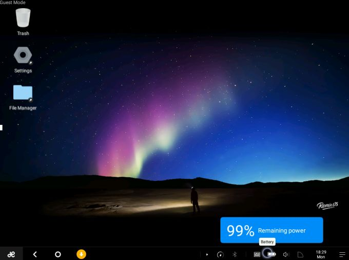 remix os with battery