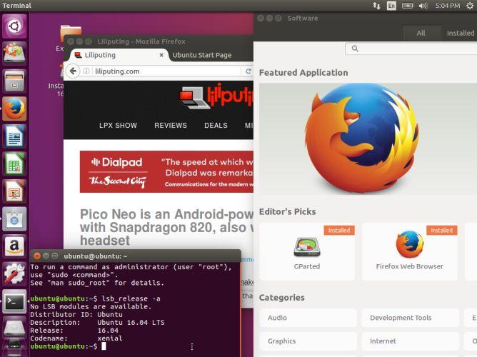 ubuntu 1604