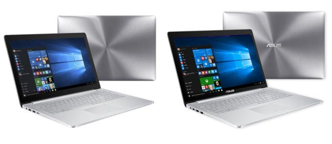 Left: Alleged Mi Book / Right: Zenbook Pro