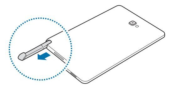 Samsung SM-P580 is a 10 inch tablet with a stylus (leaks
