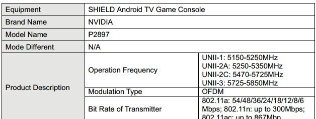 Next-gen NVIDIA Shield TV hits the FCC - Liliputing