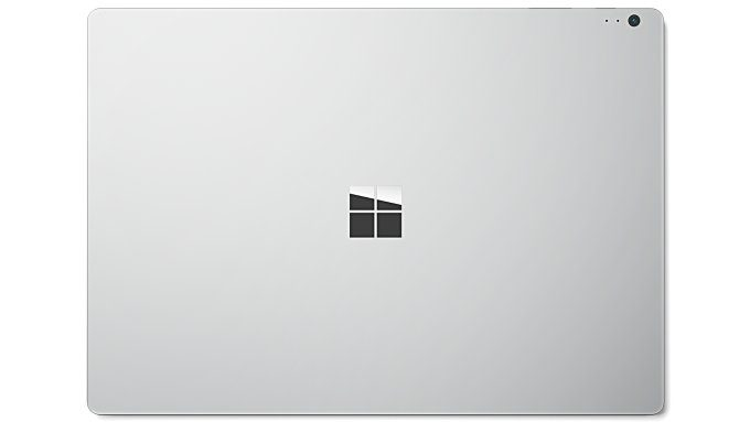 Microsoft Surface Book (from the back)