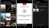 Now you can download (some) Netflix videos for offline viewing