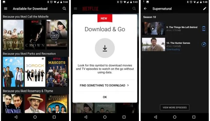 Now You Can Download Some Netflix Videos For Offline