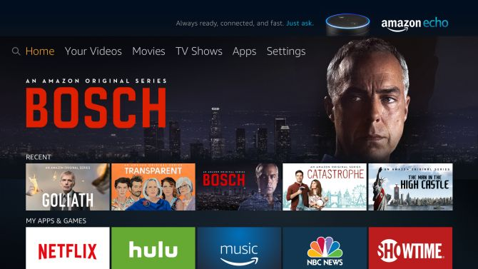 Amazon begins rolling out new Fire TV user interface