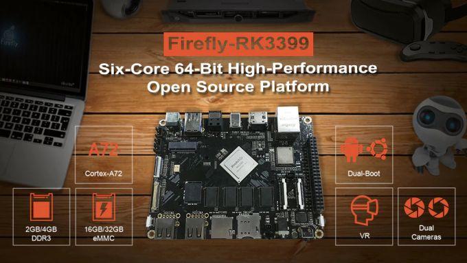 Firefly-RK399 dev board with Rockchip hexa-core CPU hits
