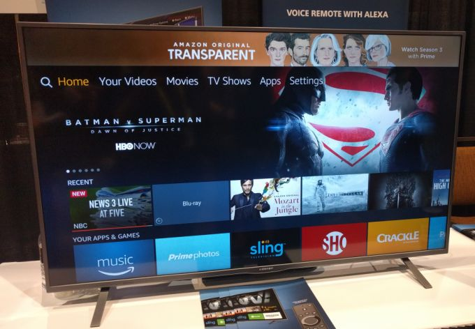 Closer look at Element's Smart TV with Amazon Fire OS and