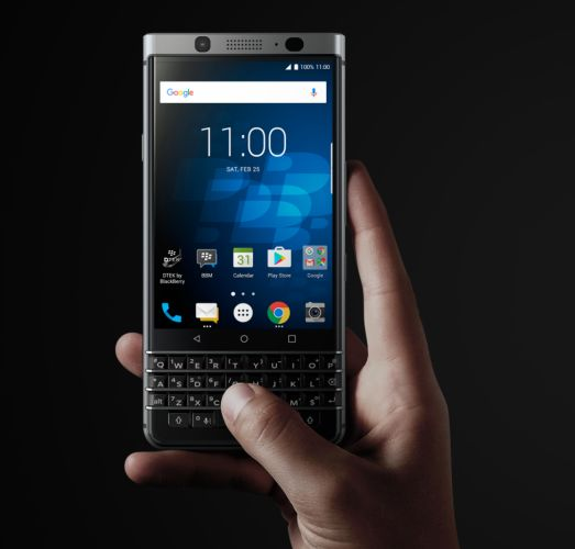 BlackBerry KeyOne smartphone features QWERTY keyboard, modern specs