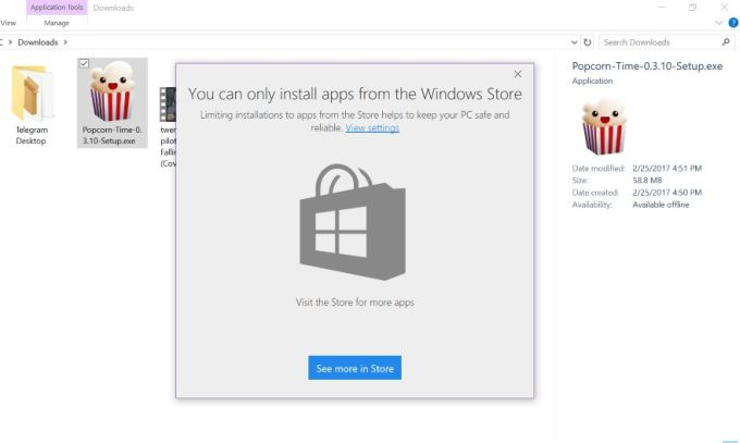 Windows 10 might soon let you block non-Windows Store apps from ...
