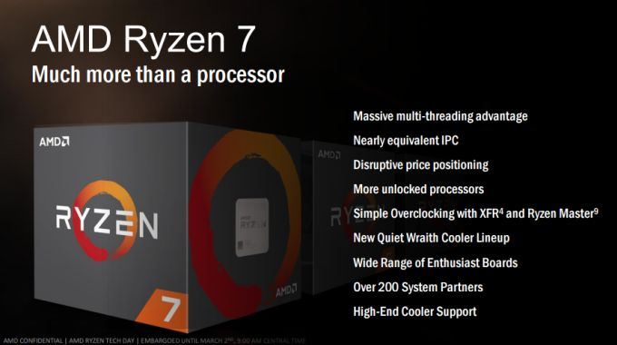AMD's first Ryzen chips launch today    but they're just the