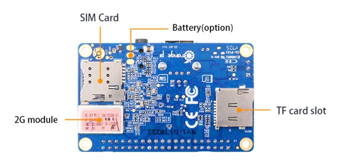 Orange Pi 2G-IoT is a $10 single-board PC with a cellular