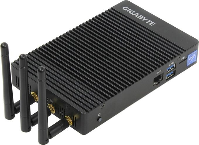 Gigabyte's tiny, fanless, low-power BRIX PCs with Apollo Lake chips
