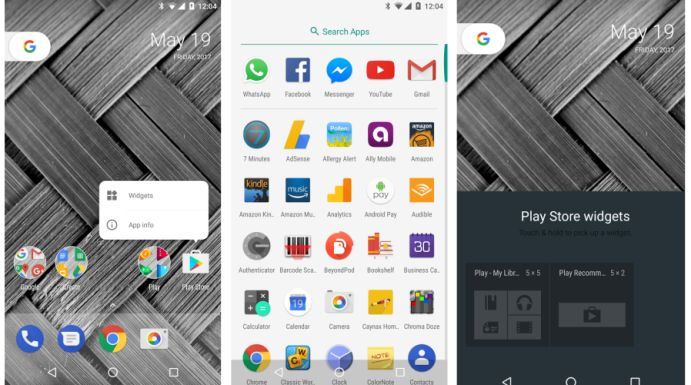 Google Pixel Launcher from Android O DP2 ported to run on Android 6.0 or later