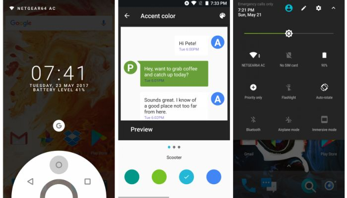 Paranoid Android is back with an Android 7.1.2 ROM